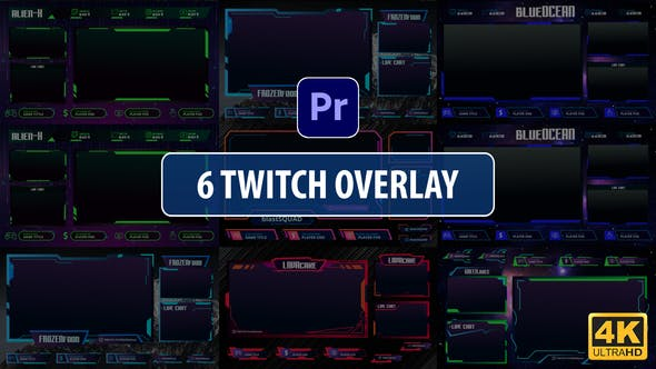 Thumbnail for Twitch-Overlay-Stream | Premiere Pro MOGRT