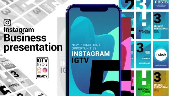 Instagram Story. Business Presentation. IGTV and Story ready.