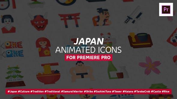 Thumbnail for Íconos de Japón - Mogrt