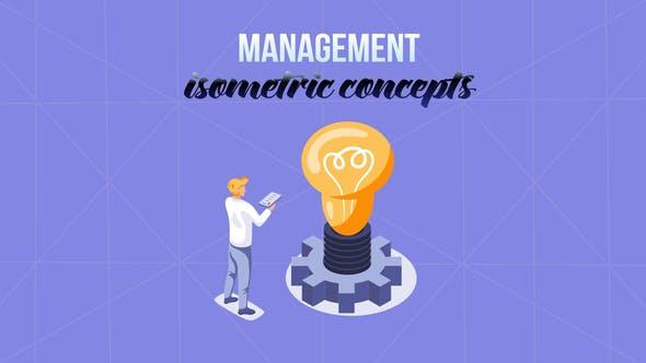 Management - Isometric Concept
