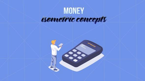 Thumbnail for Money - Isometric Concept