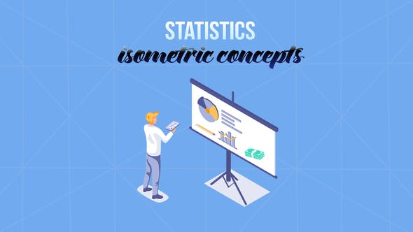 Thumbnail for Statistics - Isometric Concept
