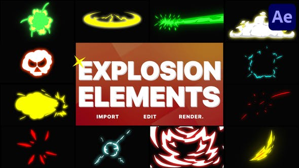 Thumbnail for Éléments d'explosion | After Effects