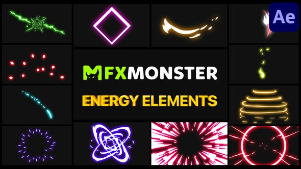 Thumbnail for Energy Pack   After Effects