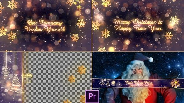 Christmas Promo Pack - Premiere Pro