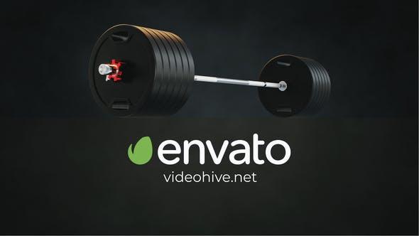 Gym - Fitness Logo Reveal