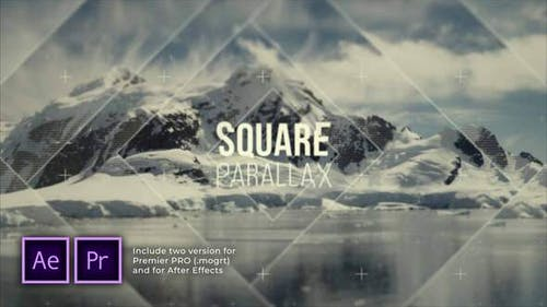 Flash Squares Parallax Introducción