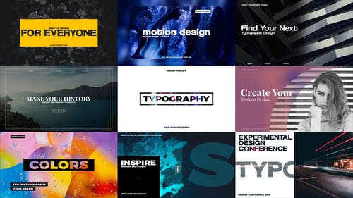 Stilvolle Typografie