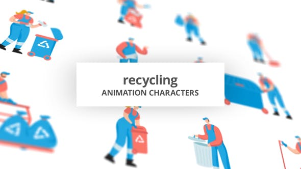 Recycling - Character Set