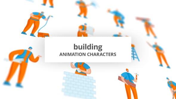 Building - Character Set