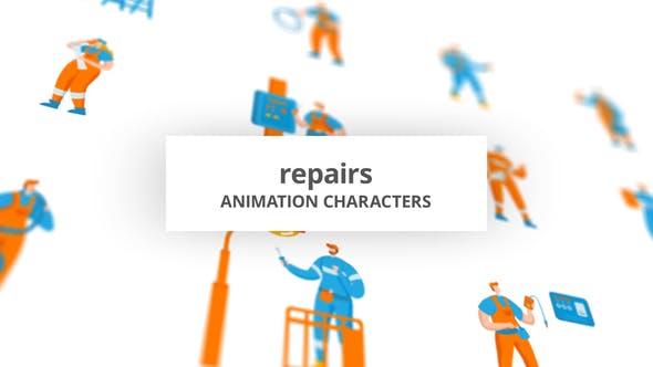 Repairs - Character Set