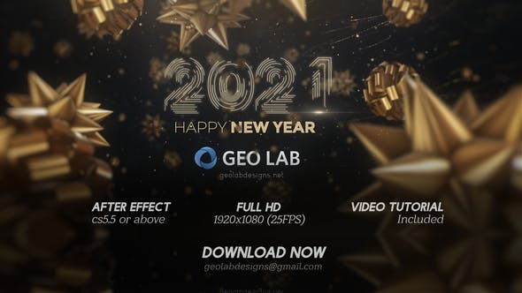 Thumbnail for New Year 2021  l  New Year Celebrations  l  2021 Opener