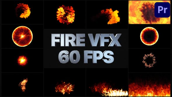 Thumbnail for Fire VFX | Premiere Pro MOGRT