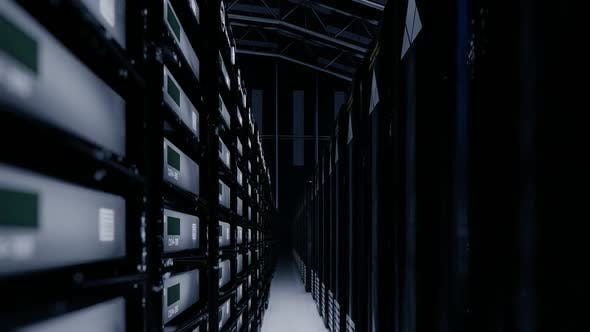 Data Factory and Server Cases Close Up