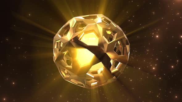 Gold Magical Orb