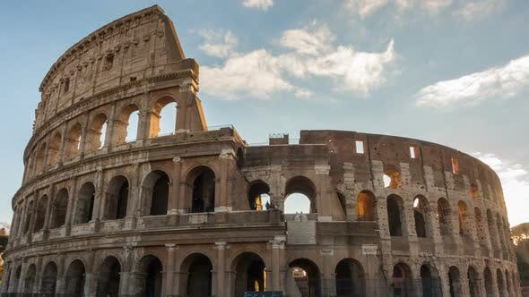 Thumbnail for The Colosseum or Coliseum Timelapse, Flavian Amphitheatre in Rome, Italy