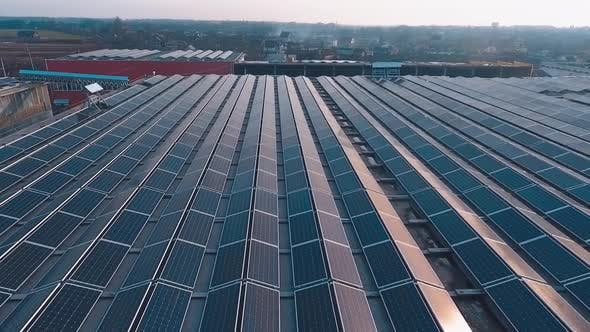Thumbnail for Factory Roof With Solar Panels