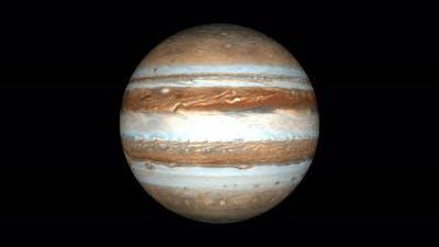 Jupiter Planet Without Background 01