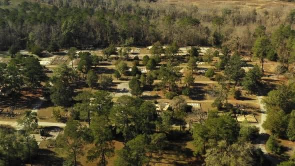 Thumbnail for Fort Gaines Georgia USA rural landscape shot