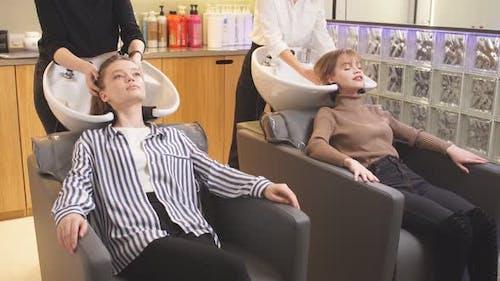 Beauty Procedures in Beauty Saloon