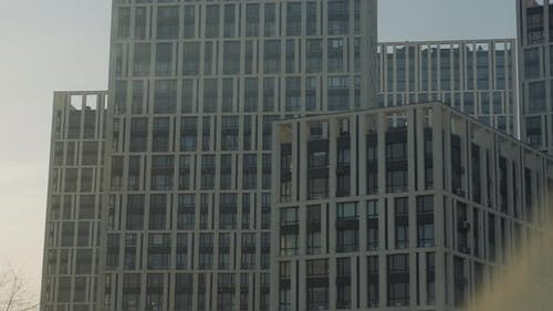 Modern Apartment Buildings Exterior