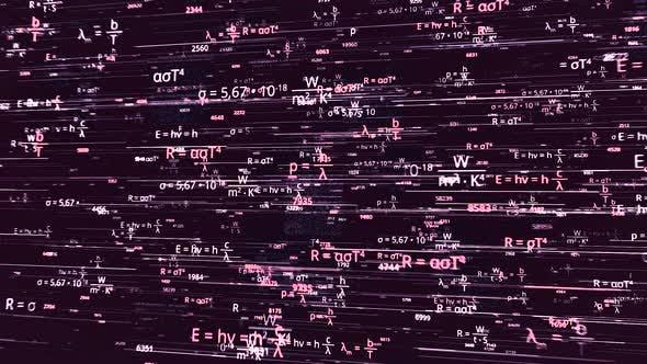 Many different scientific formulas