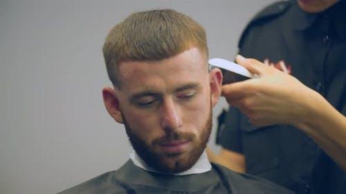 Hair Dresser Hairstyle Guy