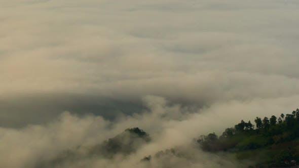 Thumbnail for Fog Moving Mountain