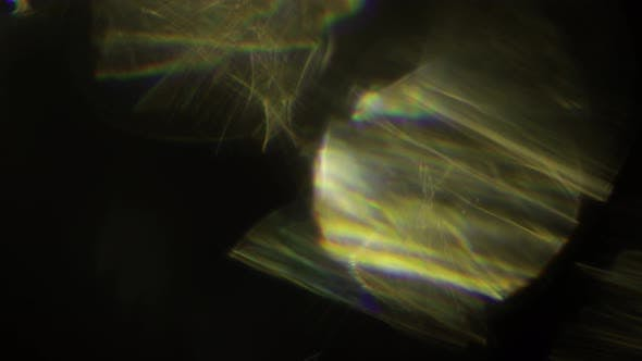 Multicolored Light Leaks  Footage on Black Background. Stylizing Video, Transitions. Bokeh Effect