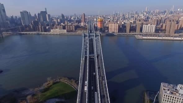 Thumbnail for Manhattan Bridge Aerial, New York