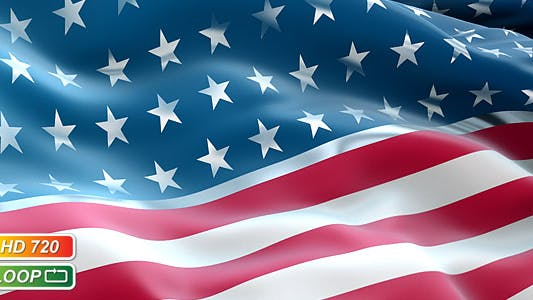 Cover Image for Stylized USA Flag