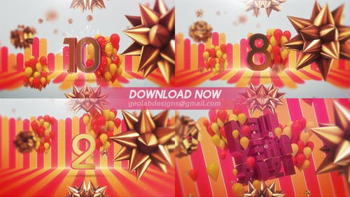 New Year 2021 Countdown l New Year Celebration Template  l  New Year Eve