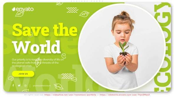 Save the Planet | Ecology Promo