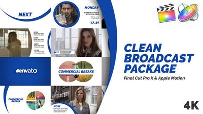 Clean Broadcast Pack