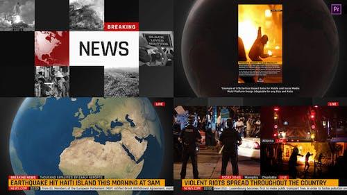 Multi-Platform NEWS Graphics ToolKit for Premiere Pro