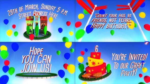 Thumbnail for My Birthday Party Titles