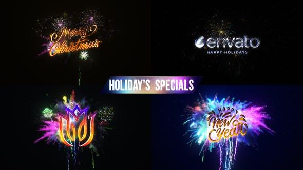 Fireworks & Explosion Logo