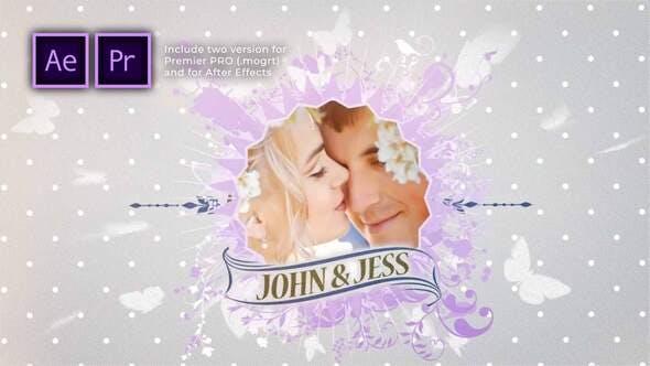 Elegant Wedding Story Slideshow