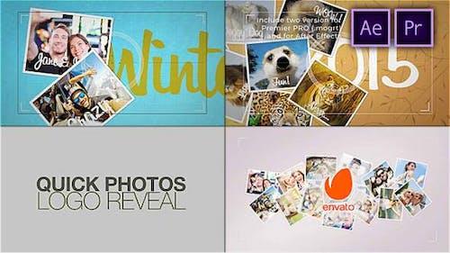 Quick Photos. Photographer Logo Reveal
