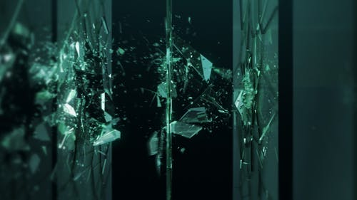 Shattered Glass Logo Ident