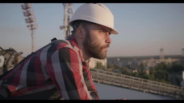 Thumbnail for Engineer Taking a Break