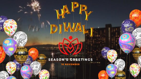 Thumbnail for Happy Diwali Balloons Reveal