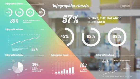 Infographics white