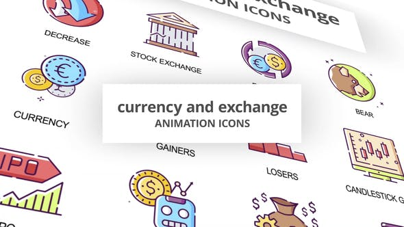 Currency & Exchange - Animation Icons