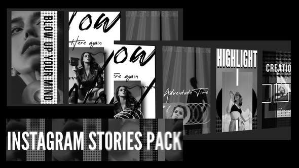 Thumbnail for Pack Instagram Grange Stories