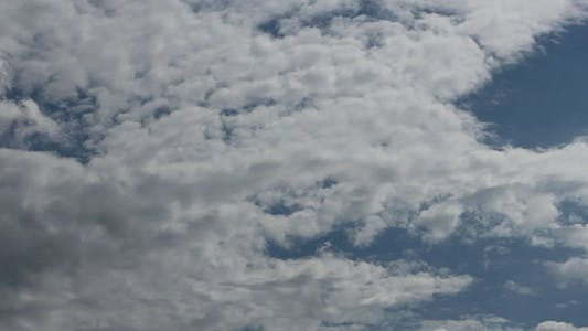 Thumbnail for Clouds In The Blue Sky Timelapse 6