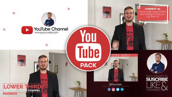 Thumbnail for Youtube Pack