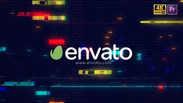 Glitch Logo Intro Pro