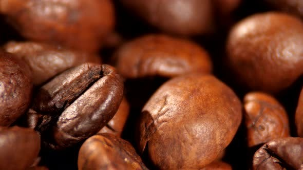 Thumbnail for Top of Brown Roasted Coffee Beans