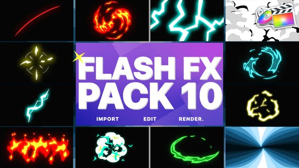 Thumbnail for Flash FX Elements Pack 10 | FCPX